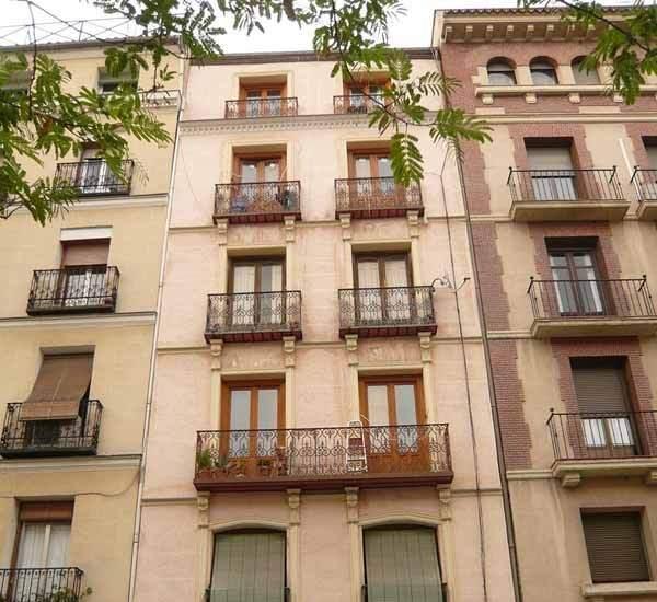 informe de evaluacion de edificio en Zaragoza